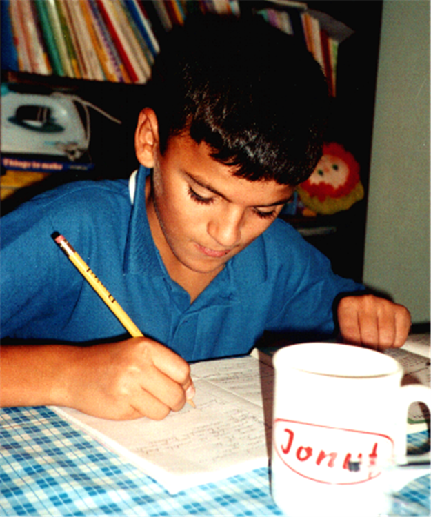 Ionut in 2000